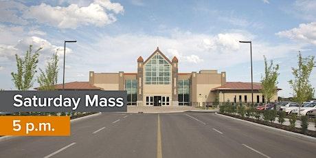 SATURDAY (5PM Anticipated Sunday Mass) tickets