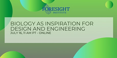 Biology as Inspiration for Design and Engineering tickets