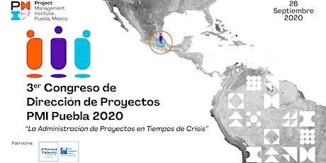 3er Congreso de Project Management Puebla 2020 boletos