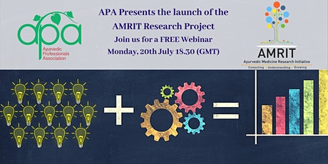 APA Presents the Launch of the AMRIT Research Project tickets