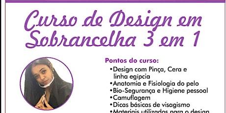 NOVO CURSO DE DESIGNER DE SOBRANCELHAS ingressos