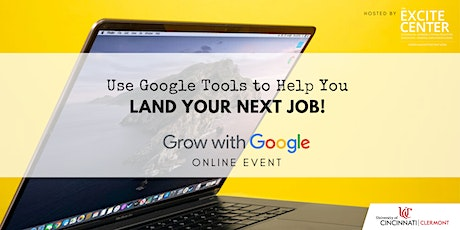 Use Google Tools to Help You Land Your Next Job! tickets