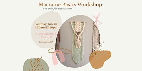 Macrame Basics Workshop tickets