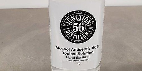 PPE Giveaway - 1 Litre Bottles of Junction 56 Sanitizer tickets
