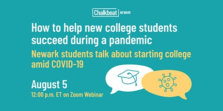 How to help students succeed in college during a pandemic tickets