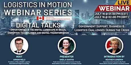 WEBINAR - DIGITAL TALKS: Obstacles & Opportunities in Brazil tickets