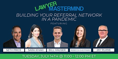 Lawyer Mastermind (Rd 17) | Building Up Your Referral Network tickets