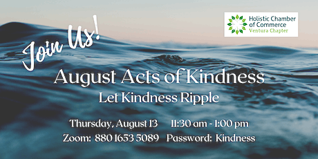 August Acts of Kindness tickets