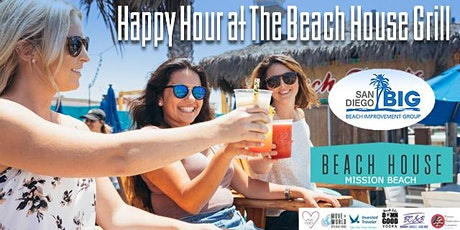 SD BIG Happy Hour at The Beach House - Belmont Park tickets
