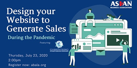 Design your Website to Generate Sales during the Pandemic tickets
