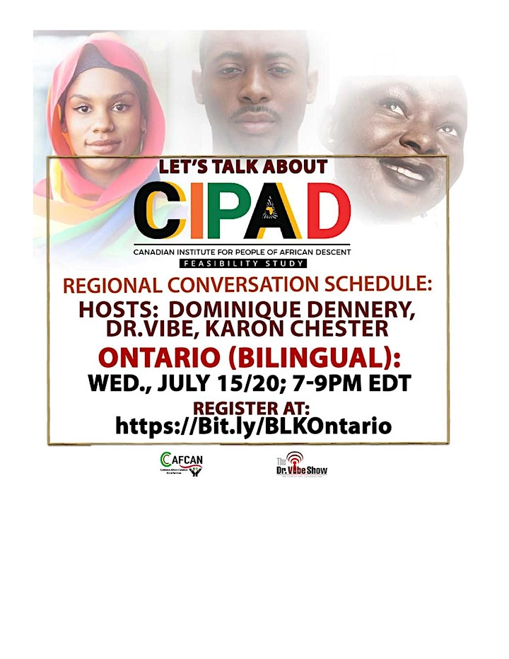 Let's Talk About CIPAD: Ontario (Bilingual) Regional Conversation image