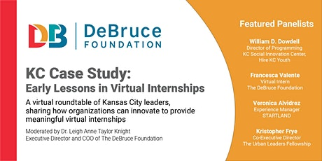KC Case Study:  Early Lessons in Virtual Internships tickets