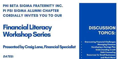 PBS Financial Literacy Workshop Series tickets