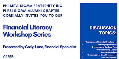 PBS Financial Literacy Workshop Series tickets