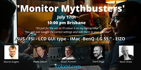 Meet the ICA EP03 'Monitor Mythbusters' tickets