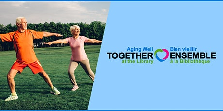 Seniors Fitness Class Online: Restorative Exercises for Hips and Pelvis tickets