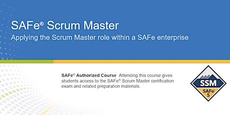 VIRTUAL ! SAFe® 5.0 Scrum Master Certification Training tickets