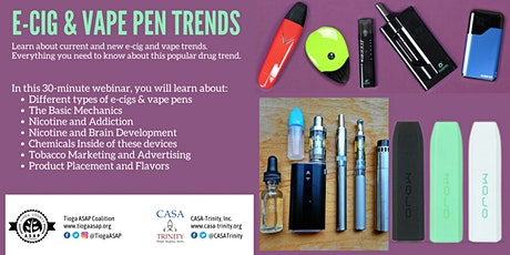 E-Cig & Vape Pen Trends tickets
