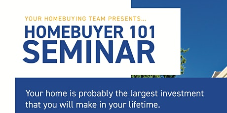 Homebuyer 101 Seminar tickets