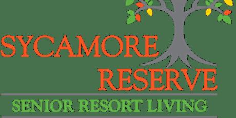 Bus Tour to  Sycamore Reserve Senior Living tickets