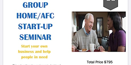 Copy of Start Up Group Home/AFC Home tickets