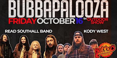 Bubbapalooza -  Read Southall Band / Kody West - tickets