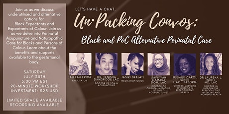 The Un·Packing Convos Series: Acupuncture and Naturopathic Perinatal Care tickets