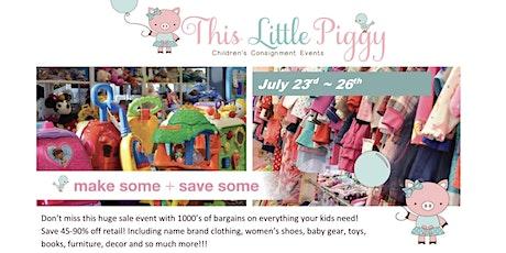 This Little Piggy's Summer/Back 2 School 2020 Sale tickets