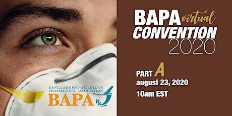 BAPA Virtual Convention-Part A -2020 tickets