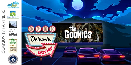 Drive-In Movie in Mill Valley featuring The Goonies! tickets