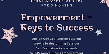 Empowerment Keys to Success tickets