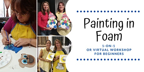 Painting in foam for beginners tickets
