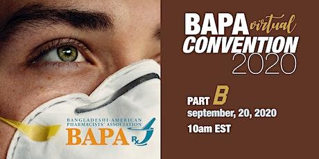 BAPA Virtual Convention-Part B -2020 tickets