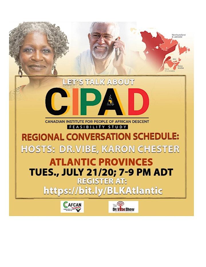 Let's Talk About CIPAD: Atlantic Provinces Regional Conversational image