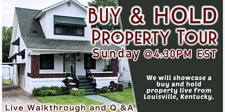 Online Buy & Hold Property Deal Tour - KY tickets