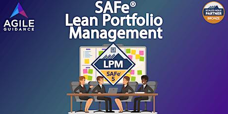 Lean Portfolio Management - SAFe® 5.0 tickets