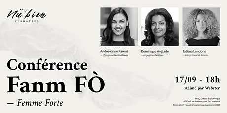 Conférence Fanm Fò (Femmes Fortes) tickets