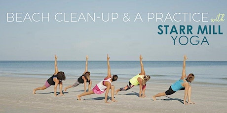 cinder + salt Beach Clean-Up & Yoga Practice with Starr Mill Yoga tickets