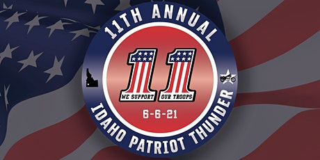 11th Annual Idaho Patriot Thunder Ride tickets