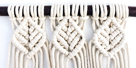 Macramé For Beginners 'Zoom' Online Class tickets