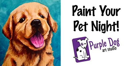 Paint Your Pet Night tickets