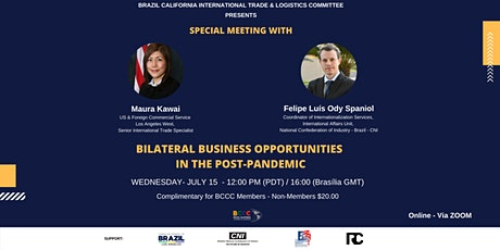 Copy of BILATERAL BUSINESS OPPORTUNITIES  IN THE POST-PANDEMIC tickets