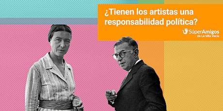 ¿Tienen los artistas una responsabilidad política? entradas