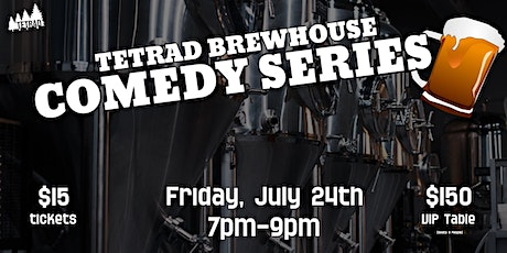 Tetrad Brewhouse Comedy Series tickets