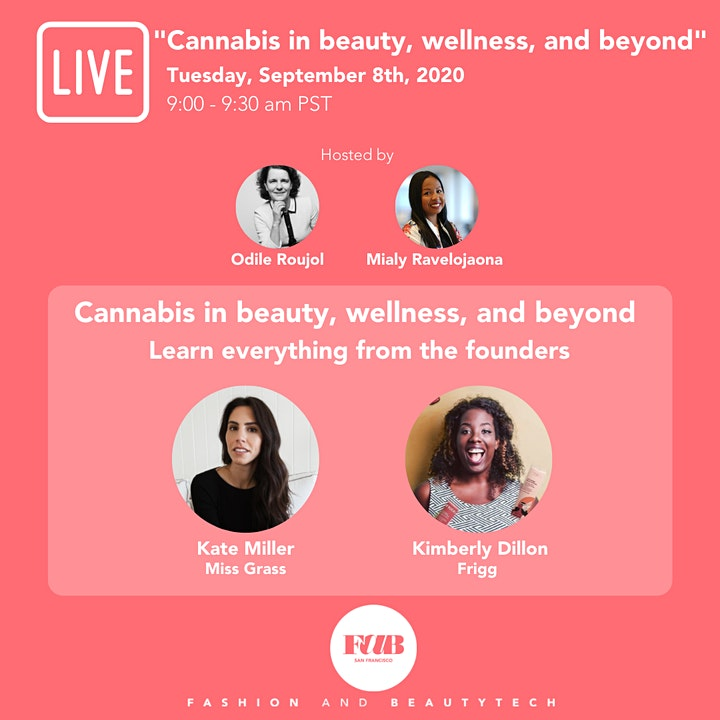 "WEBINAR ""Cannabis in beauty, wellness, and beyond"" FREE FOR FOUNDERS image"