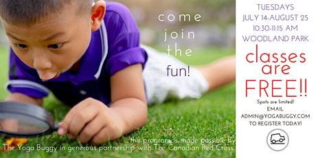 Free Kids Yoga at McSpadden Park Vancouver tickets