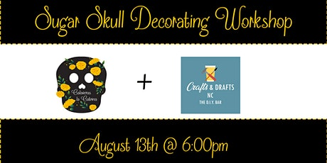 Sugar Skull Decorating Class tickets