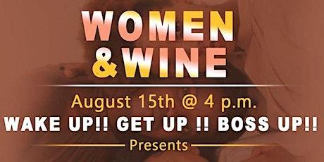 WOMEN & WINE tickets