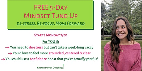 5-Day Mindset Tune-Up tickets