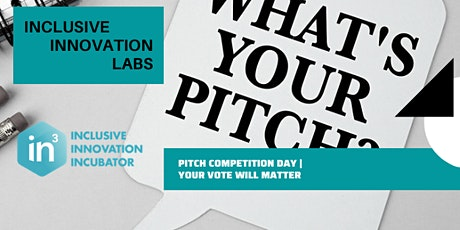 In3Labs Pitch Competition Day - Cohort 2020 tickets